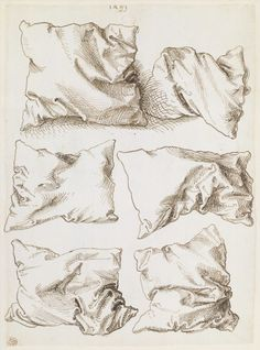 Durer Six Pillows (verso) 1493