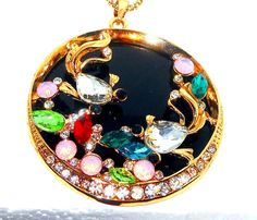 Multi+Color+Austrian+Crystal+Pendant+With+32+inch+chain+Goldtone+#Unbranded+#Pendant http://stores.ebay.com/JEWELRY-AND-GIFTS-BY-ALICE-AND-ANN