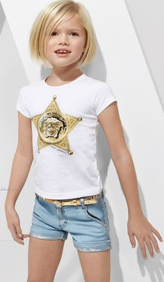 Young Versace SS15 creates rich shades with Iconic Medusa motif, Greek Fret and Baroque prints