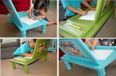 Comment transformer une vieille porte de placard en jolie table de dessin • Quebec echantillons gratuits