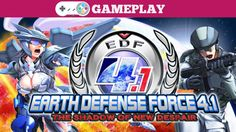 EARTH DEFENSE FORCE 4.1 Gameplay