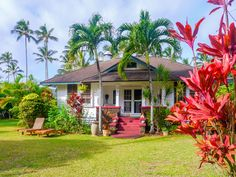 Stay in an eco-friendly cottage with history on your trip to this Hawaiian island.