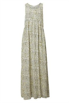 Curve Seam Maxi Dress