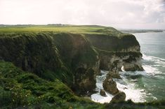 http://elizabethaquino.blogspot.com  Irish sea cliffs