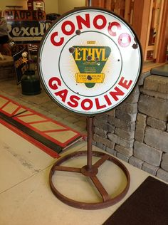 1930's Conoco Gasoline- check it out at vintagegallery.com