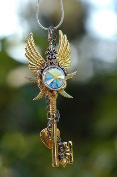 Jewel of Denial Key Necklace
