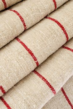 Komedal Road . . . — Red Stripe Fabric Roll...
