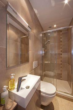 Ensuite Bathrooms, Bathroom Sets, Luxury Bathrooms, Small Bathrooms, Mason Jar Bathroom, Downstairs Toilet, Basement House, Rustic Bathroom Decor, Wet Rooms