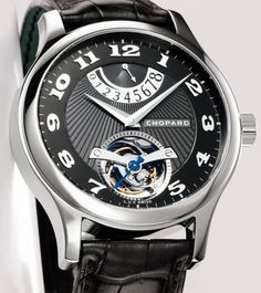 L.U.C Tourbillon Steel Wings Classic / Chopard watch  I   absolutely love this timepiece. | juwelier-haeger.de