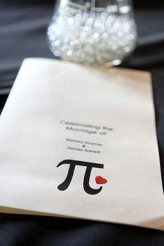 Celebrate Pi day with our favorite wedding pies and Pi weddings | Offbeat Bride #PiDay #PieDay #WeddingPies