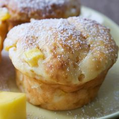An easy and very tasty recipe for cheese muffins. These are a great snack.