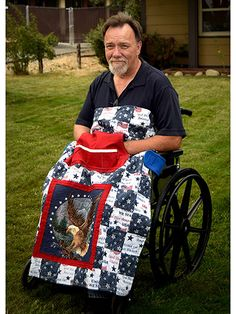 Holding Your Own Wheelchair Quilt Pattern. Shop Mook Fabrics fabric store in Medicine Hat Alberta, Winnipeg Manitoba and Leola Pennsylvania for your new favorite fabrics for all your creations! Lap Quilts, Quilt Blocks, Small Quilts, Sewing Hacks, Sewing Tutorials, Sewing Tips, Sewing Crafts, Sewing Ideas, Diy Crafts