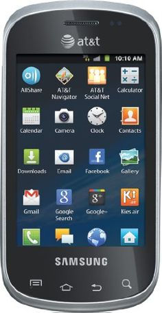 nice Samsung Galaxy Appeal Android Prepaid GoPhone (AT&T)