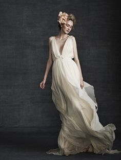 Samuelle Couture  love the ethereal appeal of this dress