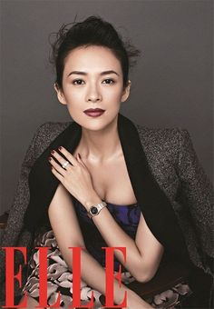 Zhang Ziyi Pulls Double Duty As Cover Girl For Elle China's Anniversary Issue Zhang Ziyi, Asian Woman, Asian Girl, Asian Ladies, Most Beautiful Women, Beautiful People, Cover Girl Makeup, Provocateur, Asian Makeup