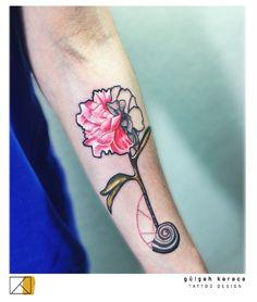Tattoo Artist: Gülşah KARACA istanbul/ Turkey https://instagram.com/birbarbiyologu/ gulsahkaracatattoodesign@gmail.com