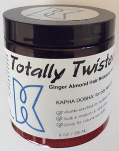 Afroveda Totally Twisted Ginger Almond Butter