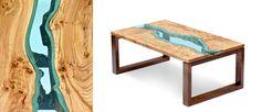 S'inspirer de la nature et de ce qu'elle fait de plus beau est l'idée retenue par le fabricant de meuble Klassen. Inspiré par son environnement, il emploie le bois des arbres tombés sur les abords de la rivière Nooksack associé à des plaques de verre pour créer des meubles donnant l'illusion de cours d'eau les …