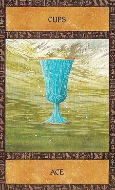 The Ancient Egyptian Tarot ► Ace of Cups