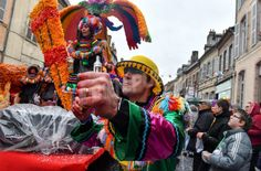 Le carnaval d'Auxonne 2017 en images. Photo Philippe Bruchot