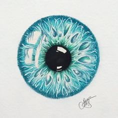 iris eye art - Google Search