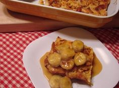 Salted Butterscotch Banana Bread Pudding: Photo - 2 | Just A Pinch Recipes