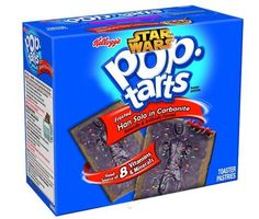 Frosted Han Solo in Carbonite Pop-Tarts