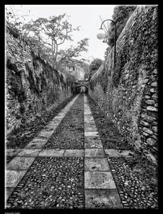 Ancient walkway by Giancarlo Gallo