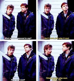 Shameless. Ian and Lip.