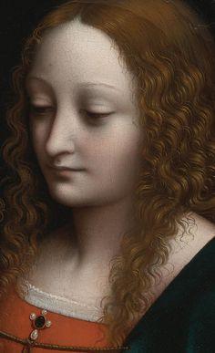 Madonna of the Cherries (detail),  1525, Giampietrino