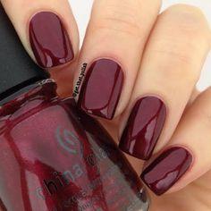 Lindo color de uñas para otoño