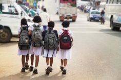 Sri Lanka | Bandarawela schoolgirls | Flickr - Photo Sharing! Photography: Frank van den Ing