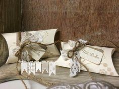 Eine Pillow Box im Vintage - Look!! ~ STEMPEL...und deine Ideen werden wahr...