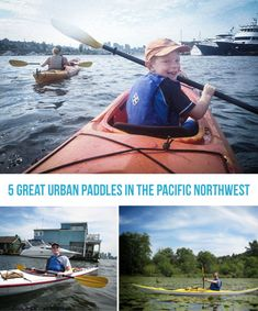 Seattle - 5 Great Urban Paddles - boat & kayak rental places & interesting places to explore
