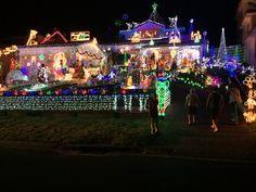 Christmas Lights at Edens Landing, Qld