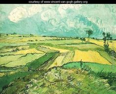 Wheat Fields At Auvers Under Clouded Sky - Vincent Van Gogh - www.vincent-van-gogh-gallery.org