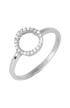 Argento Vivo Open Circle Ring available at #Nordstrom
