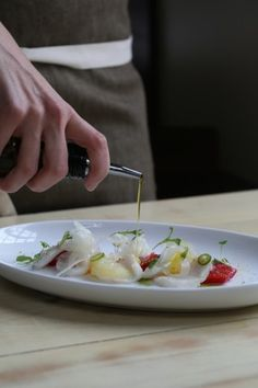 Ceviche of Scallops. From Chefs Hugh Acheson and Whitney Otawka. Photo by Sara Hanna.