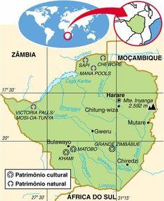 Zimbabwe atlas maps and online resources infoplease zimbbue aspectos geogrficos e sociais do zimbbue gumiabroncs Images