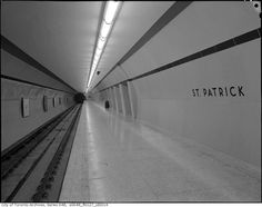 These two TTC subway stations are not like the others Toronto Subway, St Patrick, City, Photography, Tvs, Art Ideas, Concept, Vintage, History