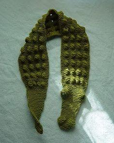 Gator Scarf #scarf free #crochet pattern