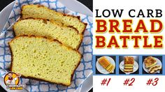 The BEST Low Carb Bread Recipe - EPIC BREAD BATTLE - Testing 3 Keto Bread Recipes - YouTube