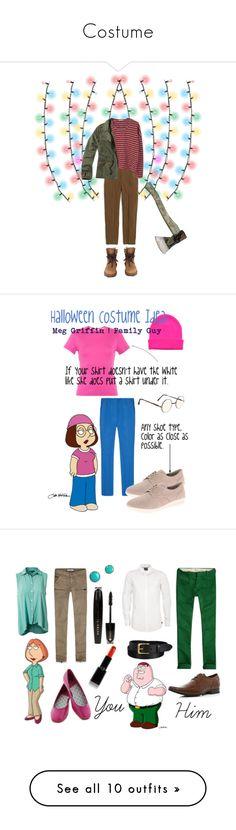 """Costume"" by lovelythug ❤ liked on Polyvore featuring J.Crew, MANGO, Chanel, Hollister Co., halloweencostume, DIYHalloween, StrangerThings, joycebyers, John Lewis and Reed Krakoff"