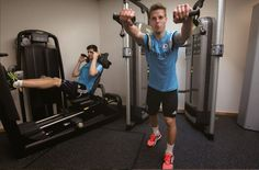 Chelsea Football Club trains only with Technogym. #itrainwithtechnogym