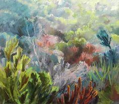 Oil on canvas, 100 X Jenny Parsons Colorful Artwork, Urban Landscape, Visual Arts, Contemporary Artists, Framed Art, Flora, Landscapes, March, Paper Crafts