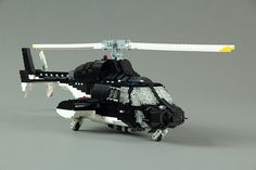 A sort of Knight Rider of the skies, Airwolf aired between 1984 and 1987, and made every 6 year old boy want to be a helicopter pilot when they grew up. This near-perfect Lego recreation of the '80...