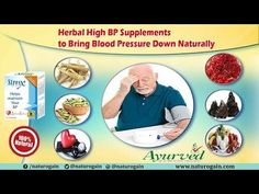 Herbal High BP Supplements to Bring Blood Pressure Down Naturally