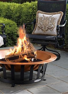A backyard fire pit the best way to relax and entertain at anytime