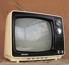 My very first TV