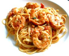 Shugart & Spice: Shrimp Vodka Spaghetti